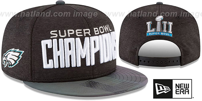 new styles faac1 14713 Eagles 'SUPER BOWL LII CHAMPIONS PARADE SNAPBACK' Hat by New Era