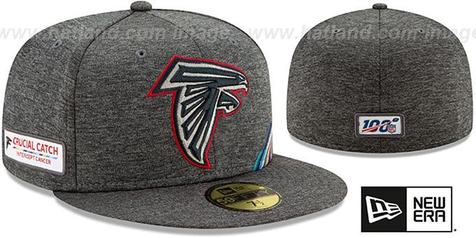 CRUCIAL CATCH Atlanta Falcons New Era 59Fifty Fitted Cap