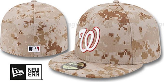 best service best online undefeated x Washington Nationals 2013 STARS N STRIPES Desert Camo Hat