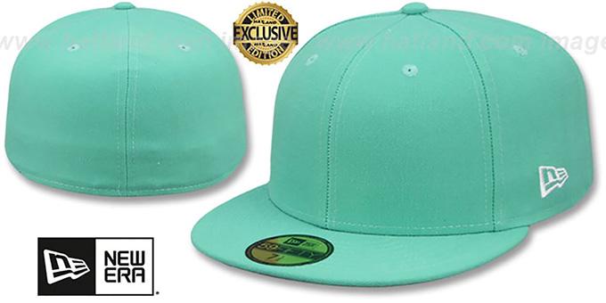 wykwintny design niepokonany x najniższa zniżka New Era '59FIFTY-BLANK' Mint Fitted Hat