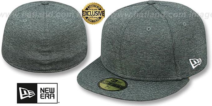 New Era '59FIFTY-BLANK' Dark Grey Shadow Tech Fitted Hat