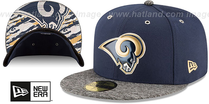 Los Angeles Rams 2016 NFL DRAFT Fitted