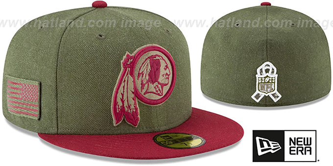 redskins salute to service cap