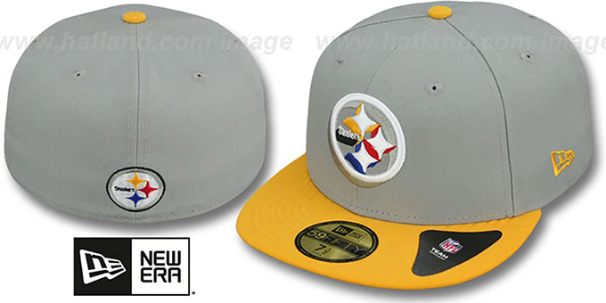 pittsburgh steelers fitted hats
