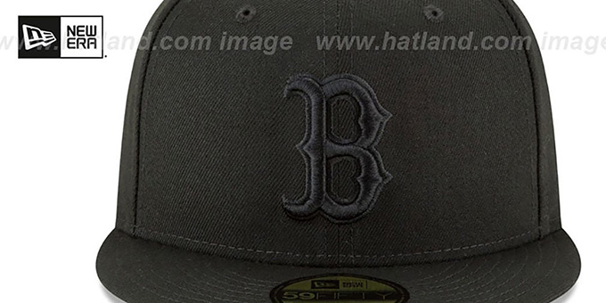 low priced ba433 b8946 Red Sox '2018 WORLD SERIES' CHAMPIONS Black-Black Hat by New Era